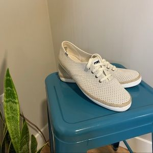 Keds Champion Perforated Suede Shoes